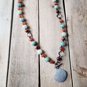 Clearance!  Multicolor Beaded Necklace